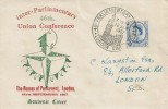 1957 Parliamentary Conference, Illustrated Souvenir FDC, 46th Parliamentary Conference London SW1 H/S