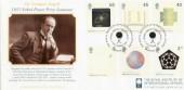 2001 Nobel Prize Centenary Westminster Covercraft Official FDC