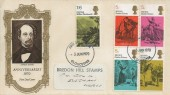 1970 Literary Anniversaries, Illustrated FDC, Gloucester FDI