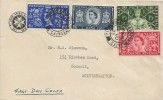 1953 Coronation, The St. John Ambulance Brigade FDC, Wolverhampton Staffs.12 cds