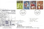 1980 Sporting Anniversaries, Kingston Polytechnic FDC, Kingston Upon Thames FDI, Signed.