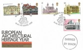 1975 Architecture, Post Office FDC, 500 Years St. Georges Chapel Windsor Berks. H/S, with Carried by Coach Cachet