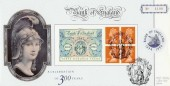 1994 Bank of England Bradbury Official Label, A Celebration of 300 Years, Bank of England, London EC Britannia H/S
