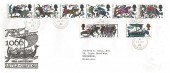 1966 Battle of Hastings, Illustrated FDC, Ashford Middx. cds