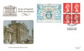 1994, £1 Bank of England Commemorative Label, Pilgrim FDC, 1694 - 1994 300 Years The Bank of England London EC2 H/S