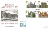 1978, Historic Buildings British Library BL5 London WC Official FDC, British Architecture British Library London WC H/S