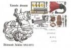 1972 BBC, Lincoln Scouts Diamond Jubilee 1912 - 1972 FDC, Louth Lincs. FDI