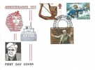 1972 General Anniversaries, Historic Relics FDC, First Day of Issue London EC H/S