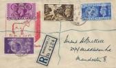 1948 Olympic Games Wembley, Registered Edward Read & Son Ltd FDC, Newton St. B.O Manchester cds