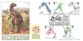 1991 Dinosaurs, Bradbury LFDC No.99 Official FDC, The Natural History Museum London SW7 H/S