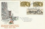 1965 700th Anniversary of Parliament Phos+Ord on Same Cover