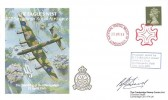 1988 The Bombing of Berchtesgaden The Eagles Nest 617 Squadron Royal Air Force Cover, National Postal Museum London EC1 Maltese Cross H/S, Signed Ben Bird