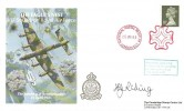 1988 The Bombing of Berchtesgaden The Eagles Nest 617 Squadron Royal Air Force Cover, National Postal Museum London EC1 Maltese Cross H/S, Signed Harold Riding