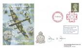 1988 The Bombing of Berchtesgaden The Eagles Nest 617 Squadron Royal Air Force Cover, National Postal Museum London EC1 Maltese Cross H/S, Signed John Jones