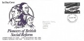 1976 Social Pioneers & Reformers, Pioneers of British Social Reform FDC, 8½p Thomas Hepburn stamp only, Bournemouth & Poole FDI