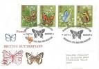 1981 Butterflies, Philcovers FDC, Margaret Fontaine Exhibition Castle Museum Norwich Norfolk H/S