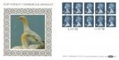 1988 QEII £1.40 Window Booklet, Benham D96 FDC, Windsor Philatelic Counter H/S
