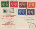 1940 Postage Stamp Centenary,Reg Jennings Printers od South Shields FDC, Yorktown Camberley Surrey cds
