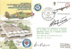 1975 Opening of the Sir Dermot Boyle Wing of the RAF Museum German Aviation Exhibition Cover, Opening Sir Dermot Boyle BF1521PS H/S.Signed Wing Commander Bob Stanford-Tuck