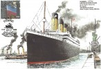 2002 90th Anniversary of the Maiden Voyage of the Titanic Commemorative Cover, Titanic 1912 - 2002 90th Anniversary Maiden Voyage Southampton H/S