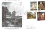 1968 British Paintings, The Hay Wain Maxi Card, Sutton Surrey cds