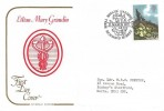 1979 British Flowers, Cotswold Lilian Mary Grandin FDC, 9p Primrose stamp only, Royal Botanic Gardens Kew Richmond Surrey H/S