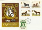 1978 Horses, Big Four Railway Museum FDC