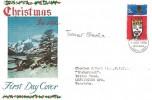 1966 Christmas, Connoisseur FDC, 3d stamp only, Bethlehem Llandeilo Carms FDI, Signed by the stamp designer Tasveer Shemza