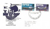 1967 European Free Trade Area (EFTA), European Free Trade Association FDC, Croydon Surrey FDI