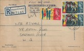 1965 Salvation Army, G Size Registered Letter FDC, Askew Road Shepherds Bush W12 cds