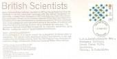 1977 Chemistry, Cleveland Potash Limited Card FDC, 13p salt stamp only, Cleveland FDI