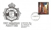 1968 British Paintings, Bristol Police Philatelic Section FDC, 1/6d John Piper Painting, Bristol FDI