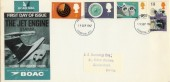 1967 British Discoveries, BOAC Jets Special FDC.