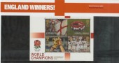 2003 England Winners Rugby World Cup Presentation Pack