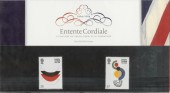 2004 Entente Cordiale Presentation Pack