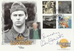 1999 Soldiers' Tale Westminster Official FDC. Signed Ian Lavender Dad's Army