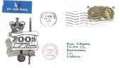 1965 700th Anniversary of Parliament Phosphor Set, Illustrated FDC, Southamtpton T Cancel