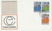 1973 European Communities House of Commons cds FDC