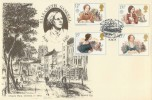 1980 Famous People Hawkwood Elizabeth Gaskell Official FDC