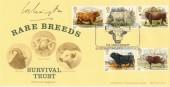 1984 British Cattle Bradbury LFDC 31 FDC Signed by the Duke of Wellington