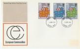 1973 European Communities Post Office FDC, Dover FDI