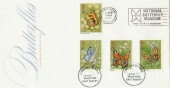 1981 Butterflies National Butterfly Museum Slogan FDC