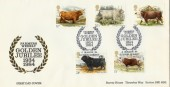 1984 British Cattle Farmers Weekley Design Encounter Official FDC