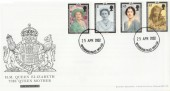 2002 Queen Mother Memorial Royal Mail FDC Buckingham Palace cds