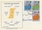 1973  European Communities, Fanfare for Europe Special FDC, signed by Margaret Beckett MP