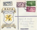 1958 Commonwealth Games RAFA Cover RARE Empire Games Village Barry Hooded cds FDC
