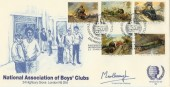 1985, Famous Trains, NABC Official FDC, Very Scarce.