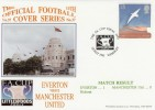 1995 FA Cup Final Everton v Manchester United Cover