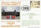 1994 FA Cup Final Chelsea v Manchester United Cover