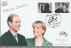 1999 Royal Wedding GBCovers Official GB25 FDC
